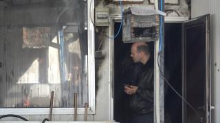 Пожар изпепели рибен ресторант в Хасково