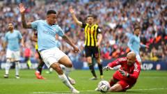 Манчестър Сити - Уотфорд 6:0: Рахим Стърлинг оформи хеттрик