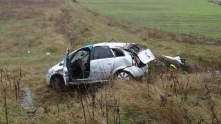 Мъж загина, а другият шофьор е в тежко състояние при катастрофа край Борован