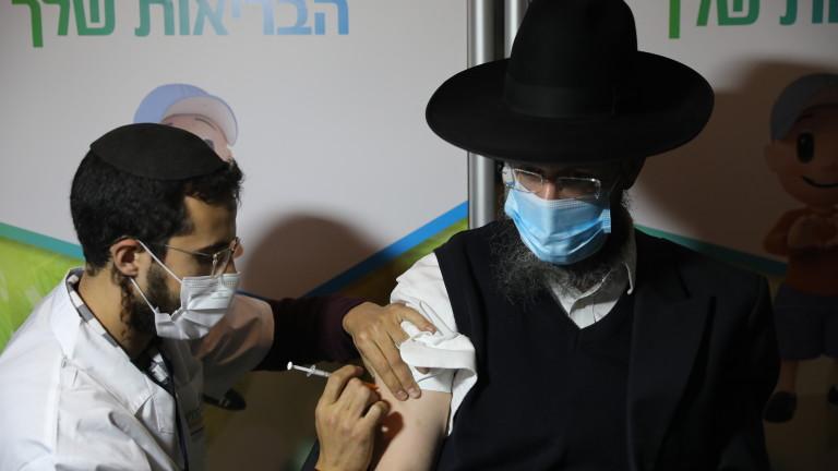 Тринадесет израелци са получили парализа на лицевия нерв, след като