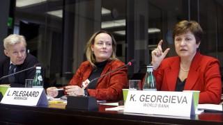 Кристалина Георгиева призова Тръмп да внимава с митата