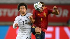 Германия изпусна победата над Испания в последната секунда
