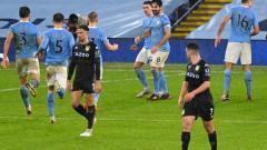 Манчестър Сити оглави класирането след успех над Астън Вила
