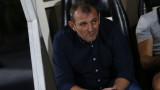 Загорчич недоволства от своите футболисти и съдията