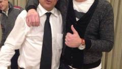Съдия със спрени права купонясва с Ицо Стоичков