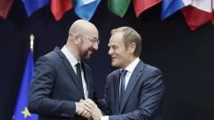 Шарл Мишел пое Европейския съвет от Доналд Туск