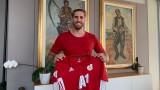 Раул Албентоса: Радвам се, че съм в ЦСКА, тук възвърнах спокойствието си