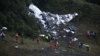 Падналият в Колумбия самолет не спрял за задължително презареждане