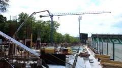 """Строежът на новия сектор на """"Лудогорец Арена"""" тече с пълна сила"""
