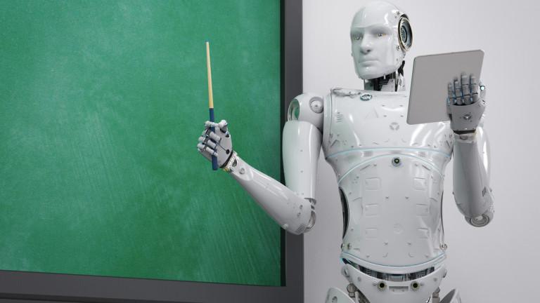 Ai-Da e робот, който може да рисува хора, гледайки ги,