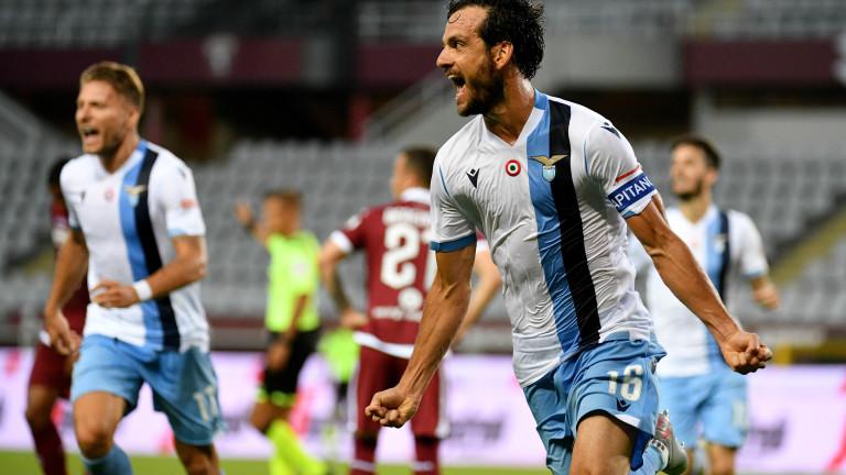 Лацио обърна Торино и притиска Ювентус