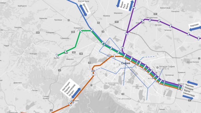 """Новата система за таксуване е """"пропуснала"""" интегрирането и с влаковете на БДЖ"""