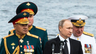 Русия демонстрира своите най-големи военни кораби