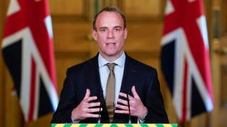 Доминик Рааб: Великобритания подкрепя България срещу враждебните действия на Русия