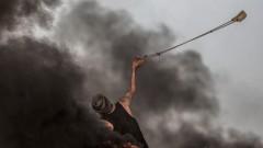 Повече от 40 палестинци ранени при протест в Газа