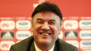 Канят Борислав Михайлов в управата на Левски!