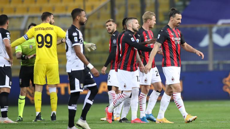 Треньорът на Милан Стефано Пиоли разкри подробности за червения картон