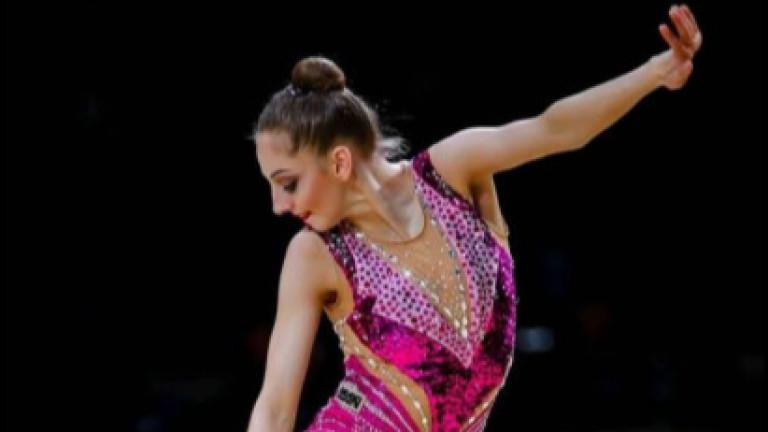 Страхотна Боряна Калейн с бронзов медал на топка от Европейското първенство