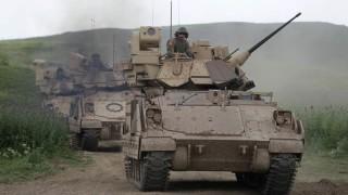 САЩ трупат войски в Сирия