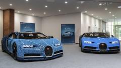Да си сглобиш Bugatti Chiron в реален размер