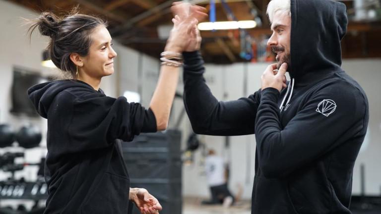 Какво правят Зак Ефрон и Нина Добрев заедно