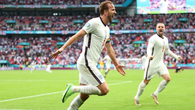 Англия постави Германия на колене и се класира за 1/4-финалите на Евро 2020