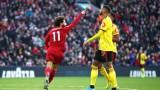 Салах поведе Ливърпул за успех над последния