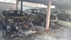 Шест коли изгоряха при два палежа в Пловдив