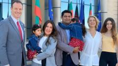 Новата посланичка на САЩ Херо Мустафа пристигна у нас със семейството си