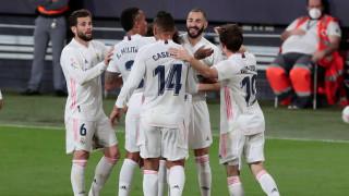 Реал (Мадрид) си свърши работата за едно полувреме