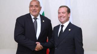"""Борисов представи на Медведев хъба """"Балкан"""" и АЕЦ """"Белене"""""""