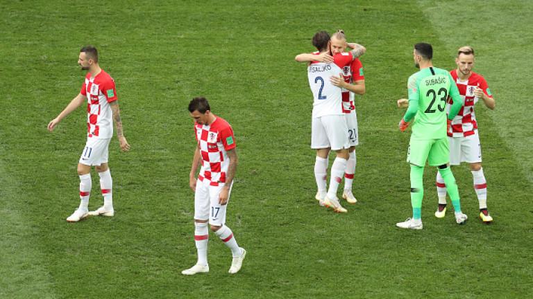 Франция 1 : 1 Хърватия 28′ ГООООЛ ЗА ХЪРВАТИЯ!!! 1:1!!