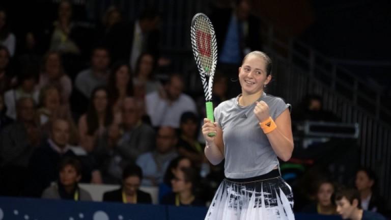 Елена Остапенко срази Юлия Гьоргес на финала в Люксембург