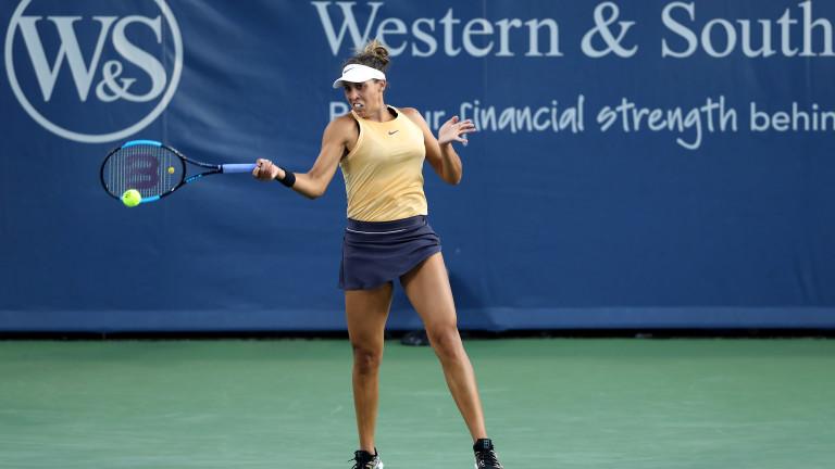Финалистката от US Open 2017 Медисън Кийс (САЩ) елиминира Симона