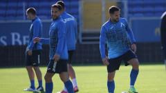Левски проведе последна тренировка преди мача с Лудогорец
