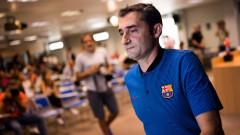 Валверде: Приоритет за Барселона са победите, а не Златната обувка