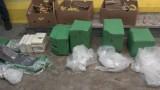 Близо 76 кг кокаин открили в кашони с банани в Бургас