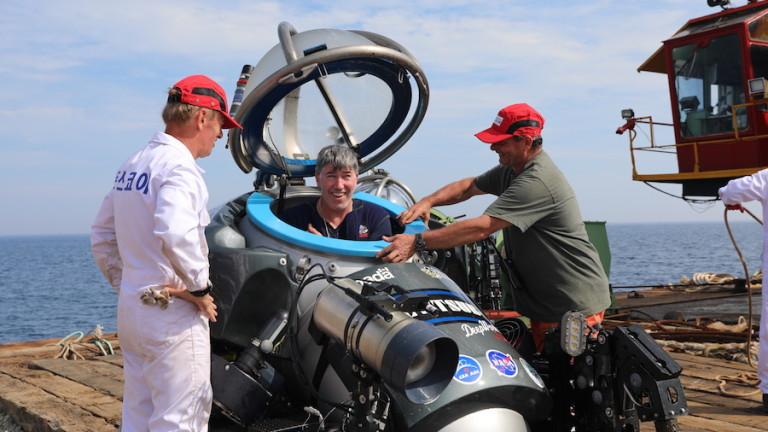 Подводниците, доказали местонахождението на кораба