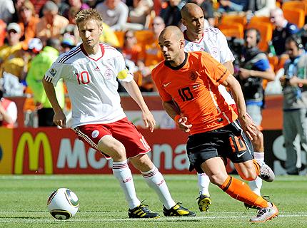 Автогол провали Дания срещу Холандия