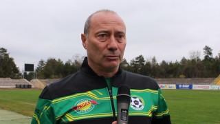 Емил Велев: Добрич е футболен град и заслужава отбор на по-високо ниво