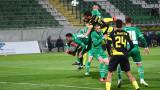 Лудогорец - Ботев (Пловдив), 3:0 (Развой на срещата по минути)