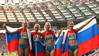 Руските атлети губят още медали от големи първенства