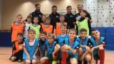 Красимир Балъков взе участие в заниманията на своето футболно училище
