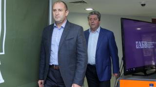 И АБВ зад Радев, генералът е фаворит, убеден Първанов