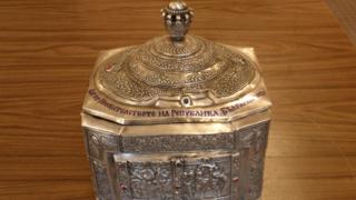 Църквата в Черноморец получи още мощи на Св. Николай