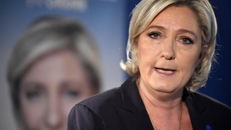 Марин льо Пен настоя Франция да възстанови граничните проверки за борба с ислямистите