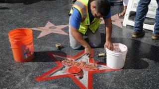 Задържан е човекът, опитал да разбие звездата на Тръмп