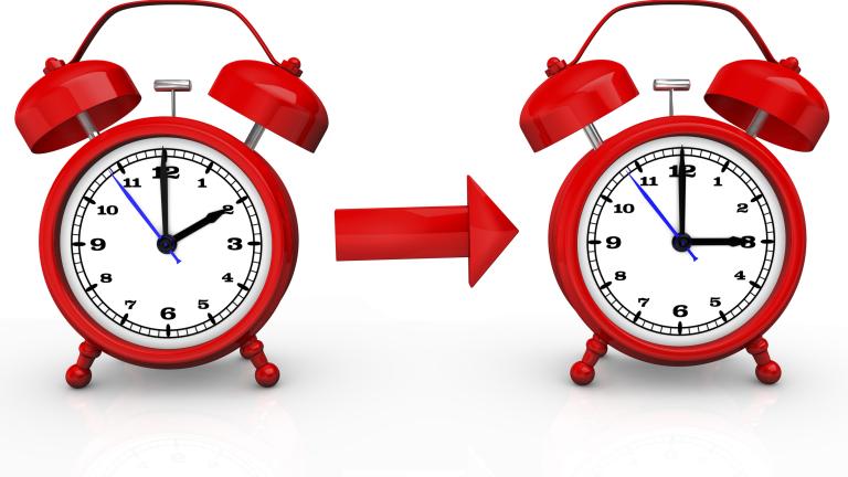 През 2020 г. се прекратява смяната на стрелките на часовника