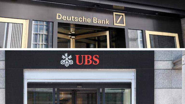 Deutsche Bank и UBS Group обсъждат варианти за обединяване на