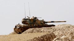 Турция трупа танкове по границата с Ирак